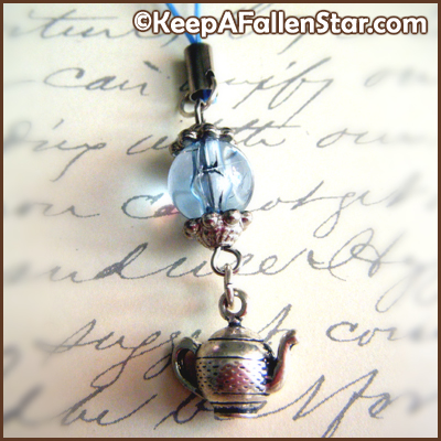 It's Tea Time Strap Charm Design © OurDestiny Designs and Keep A Fallen Star™
