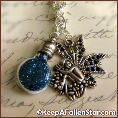 Fairy Dust Pendants Design © OurDestiny Designs and Keep A Fallen Star™